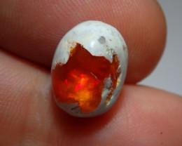 4.2ct Mexican Matrix Cantera Multicoloured Fire Opal