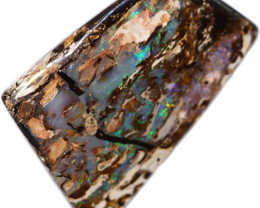95.90 CTS BOULDER WOOD FOSSIL  OPAL STONE FROM OLD COLLECTION [BMA8812]