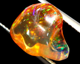 3.35 CTS MEXICAN FIRE OPAL STONE FOB-2035