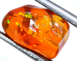4.94 CTS MEXICAN FIRE OPAL STONE FOB-2041