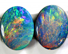 2.34 CTS   OPAL DOUBLET PAIR  LO-5481