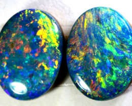 2.33 CTS   OPAL DOUBLET PAIR  LO-5482