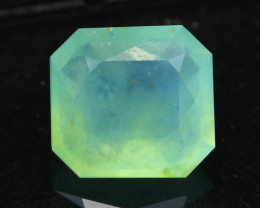 Paraiba Opal 3.10Ct Natural Peruvian Paraiba Blue Color Opal G1603