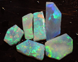 14.08  CTS L.RIDGE OPAL INLAY ROUGH PARCEL DT-9397