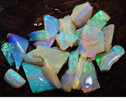 20.91  CTS L.RIDGE OPAL INLAY ROUGH PARCEL DT-9398