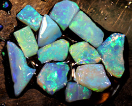 14.57 CTS L.RIDGE OPAL INLAY ROUGH PARCEL DT-9408