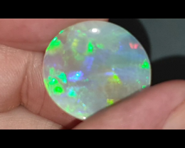 12.8 Ct Black Opal from Lightning Ridge