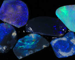 #6  -  Lightning Ridge Opal Rubs [24888]