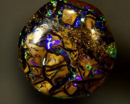 3.85 cts Boulder Blue Green Opal #6.358