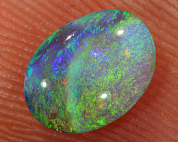 0.4ct 6.7x5mm Solid Lightning Ridge Crystal Opal [LO-1851]