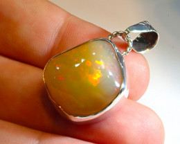 33.85ct .925 Sterling Silver Welo Solid Opal