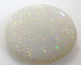5.07-CTS    SOLID WHITE OPAL  STONE   LO-5498