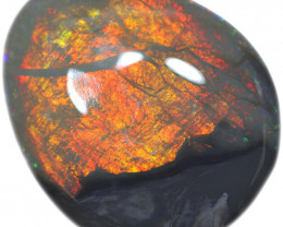 52.85 CTS OPAL STONE- PICTURE STONE  LIGHTING RIDGE- [LRO921]