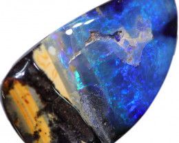 36.80 CTS BOULDER OPAL-WELL POLISHED [BMA8853]