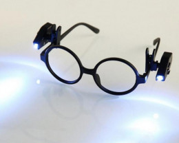 Pair- 2 Cutters Led Light, clip on Glasses OPJ 2854