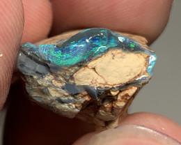 CUTTERS BLACK SEAM; 21 CTs of Lightning Ridge Rough Opal #2022