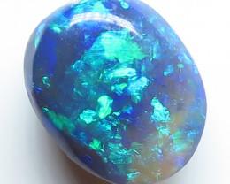 2.06t Lightning Ridge Black Opal stone