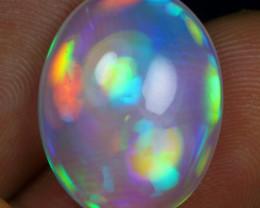 -25% Black Friday- 11.05cts Rainbow Cloud Natural Ethiopian Welo Opal