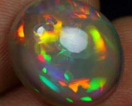-25% Black Friday- 10.15cts 5/5 Neon Flagstone Natural Ethiopian Welo Opal