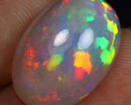 12.05cts 5/5 Rainbow Patchwork Natural Eth. Welo Opal