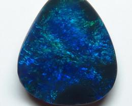 0.94ct Lightning Ridge Black Opal stone