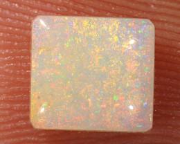 0.8ct 6x5.5mm Solid Lightning Ridge Crystal Opal [LO-1873]