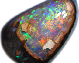 9.70 CTS  QUALITY YOWAH NUT OPAL WELL POLISHED [BMA8996]