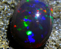 UNTREATED Beautiful Indonesian Black Opal Rough 0.75 CT