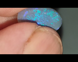 3.5 Ct Black Opal from Lightning Ridge
