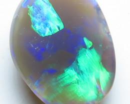 1.40ct Lightning Ridge Semi Black Opal Stone