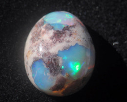 4ct. Mexican Matrix Cantera Multicoloured Fire Opal