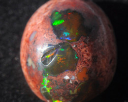 7ct. Mexican Matrix Cantera Multicoloured Fire Opal