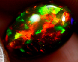 1.69cts Natural UNHEATED BLACK Ethiopian Welo Opal / BF140