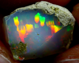8cts Ethiopian Welo Rough Opal / WR45