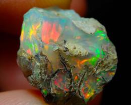 9.92ct A9  Gamble Solid Rough Ethiopian Wello Opal