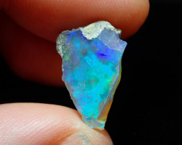 5.05ct A3  Gamble Solid Rough Ethiopian Wello Opal