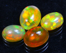 Welo Opal 4.41Ct Bright Color Play Ethiopian Opal GF2217