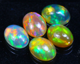 Welo Opal 3.28Ct Bright Color Play Ethiopian Opal GF2221
