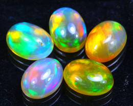 Welo Opal 3.88Ct Bright Color Play Ethiopian Opal GF2223