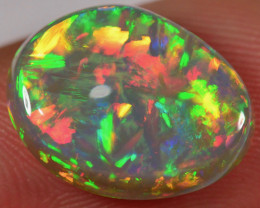 4.8 CT - EXTREMELY BEAUTIFUL NATURAL DARK WELO OPAL CABACHON