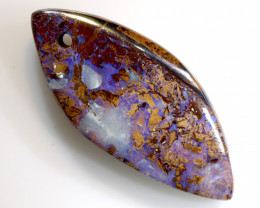 34.23 CTS YOWAH OPAL POLISHED STONE DRILLED  NC-7049