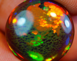 """4.43CT """"RARE FIND """"INVESTMENT GRADE WELO BLACK ETHIOPIAN OPAL-JAA250"""