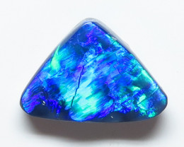 2.47ct Lightning Ridge Black Opal stone