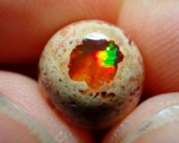 3.54ct Mexican Matrix Cantera Multicoloured Fire Opal
