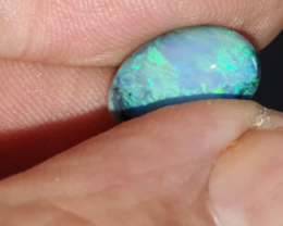 3.1 Ct Black Opal from Lightning Ridge