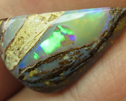 9cts, BOULDER WOOD FOSSIL OPAL.