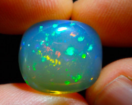 8ct. Water Transparent Welo Solid Opal