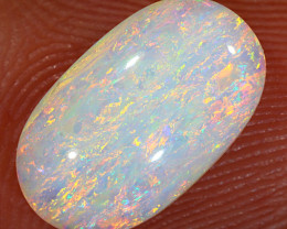 2.1ct 12x7mm Solid Coober Pedy Crystal Opal [LO-1896]