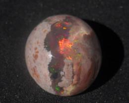 15.4ct Mexican Matrix Cantera Multicoloured Fire Opal