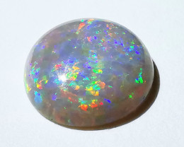 Bright Lightning Ridge Dark Semi-Black Opal - 1.41 Cts